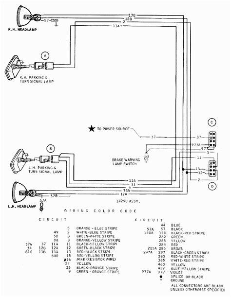 1958 chevrolet turn signal wiring diagram chevrolet auto