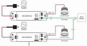Constant Current Dali Dimming Driver Srp