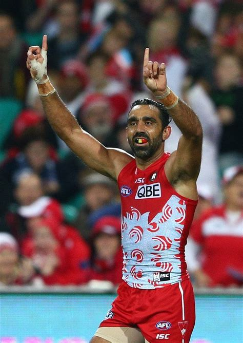 Quinn rooney/getty images after the game goodes was measured. Pin on erasing racism,