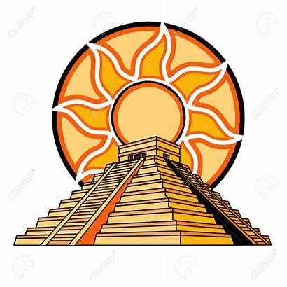 Clipart Mayan Temple Aztec Pyramid Clipground Cliparts