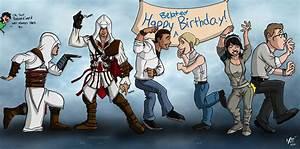 Assassins creed Happy Birthday | Humor | Pinterest ...