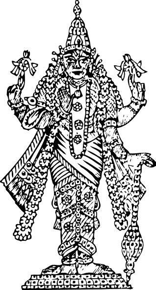 Vishnu Clip Art at Clker.com - vector clip art online