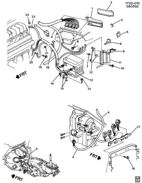 1994 Corvette Engine Wiring Harnes by Wiring Harness Engine