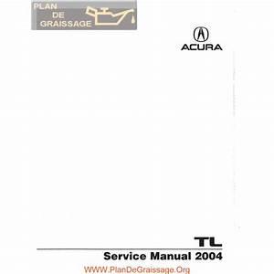 Honda Acura Tl Ua6 2004 Manual