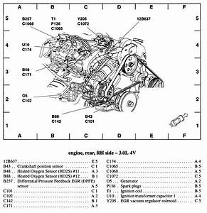 Ford Tauru Spark Plug Diagram