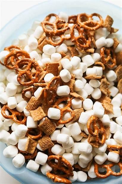 Snack Mix Mores Recipe Ebby Smores Easy