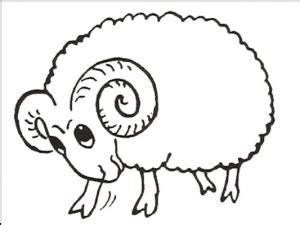 sheep coloring pages for preschool preschool and 183   sheep coloring pages for preschool printable coloring page 300x225