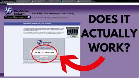 Can You Actually Get Free Psn Codes Online??