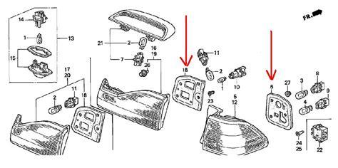 Honda Civic Tail Light Diagram Html