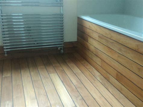 Bathroom, Panaget Teak  The Flooring Group