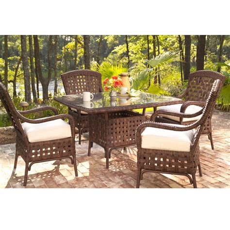lloyd flanders 5 dining set furniture for patio