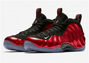 "Nike Air Foamposite One ""Metallic Red"" Release Info ...