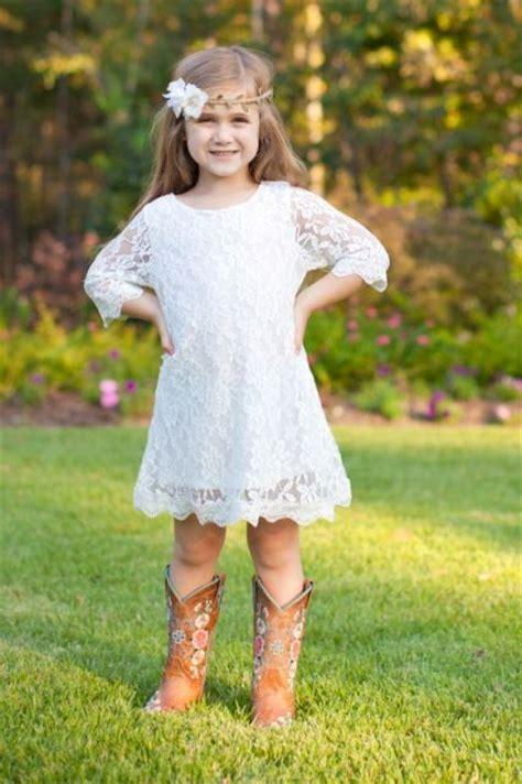 flower girl outfits  country weddings weddingomania