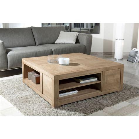 armoire chambre table basse carrée avec niches de rangement dpi import