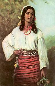 Great Painters Art Galleries: Gypsy Girl. The Art of ...