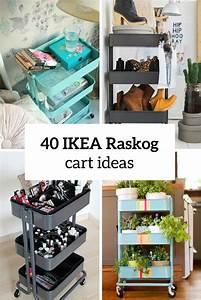 Smart Home Ideen : 40 smart ways to use ikea raskog cart for home storage ~ Lizthompson.info Haus und Dekorationen