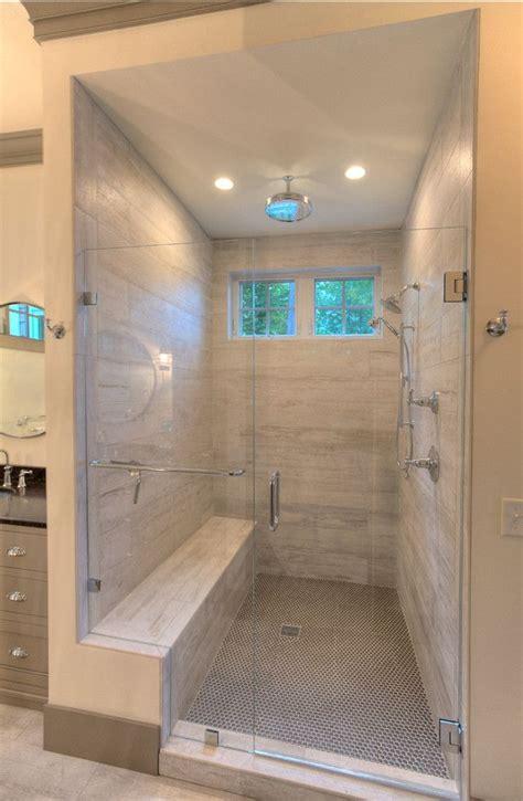 Bathroom Shower Tile Design by Bathroom Shower Design Weathered Plank Tile With