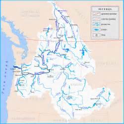 Columbia River Basin Map