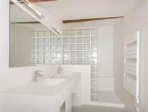 Salle De Bain à L Italienne : salle d 39 eau et douche l 39 italienne en b ton cir ~ Dailycaller-alerts.com Idées de Décoration