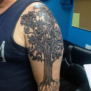 Oak Tree Tattoos Designs, Ideas and Meaning   Tattoos For You