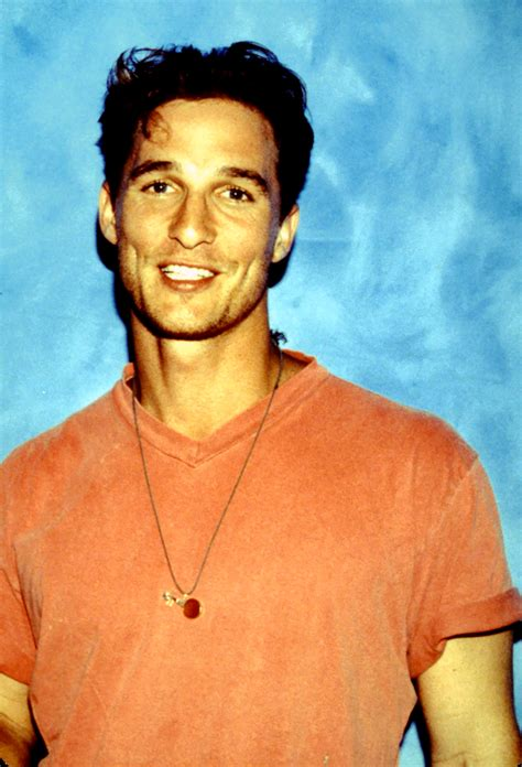 Flashback Golden Globe Winner Matthew Mcconaughey