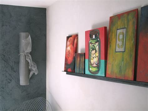 displaying art  wall space  scarce