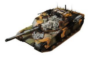 M1 Abrams Battle Tank Cutaway