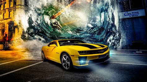 Wallpaper Car Yellow by Yellow Car Wallpaper Hd Cars Wall Papers Chevrolet