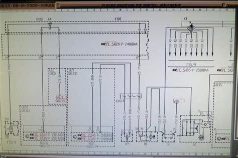 starter motor wiring diagram mercedes