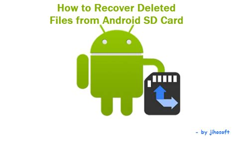android data recovery android sd card recovery