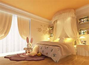 Cute And Cheap Little Girl Bedroom Accessories In Yellow
