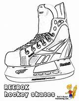 Hockey Coloring Sheets Ice Skates Players Pages Sports Cool Yescoloring Trick Hat Skate Nhl Printable Colouring Books Boys Print Printables sketch template
