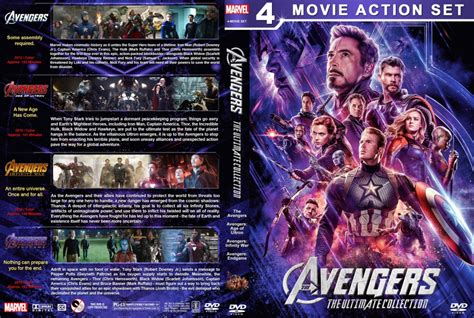 avengers  ultimate collection  custom dvd cover