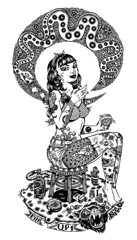 pin dessin pin up school zimg on