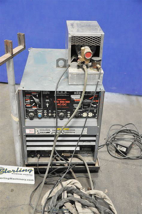 lincoln idealarc tig welder sterling machinery