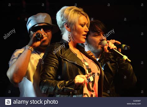Bradley Mcintosh Jo Omeara And Paul Cattermole Of S Club