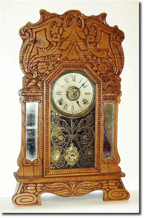 Vintage L Value by Wm L Gilbert Antique Clock