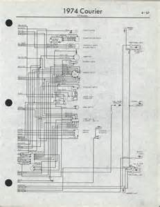 Half A Wiring Diagram 1974 Ford Courier 1974 Datsun B210