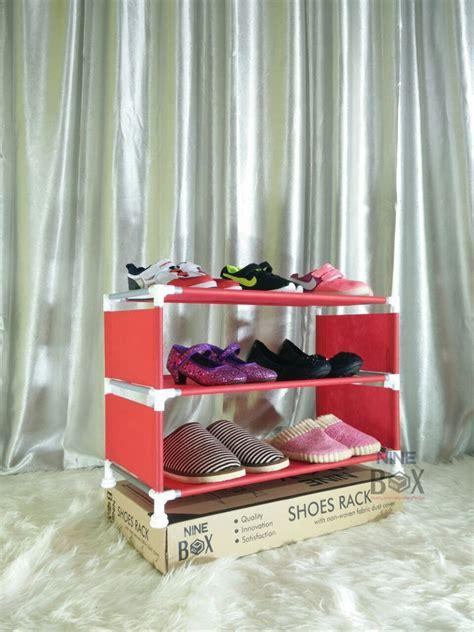 Rak Sepatu Empat Susun jual rak sepatu 3 susun rak sepatu minimalis rak sepatu
