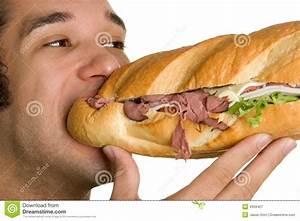 Man Eating Food Royalty Free Stock Photography - Image ...