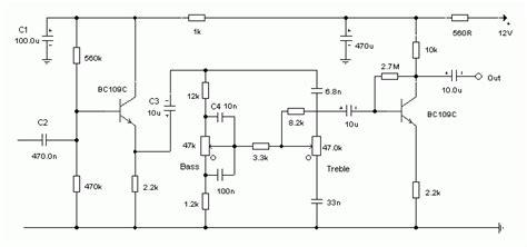 Baxandall Tone Control Circuit Bass Treble