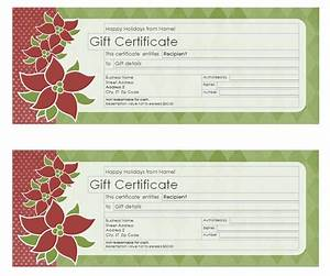 holiday gift certificate template free printable - search results for holiday gift certificate template free