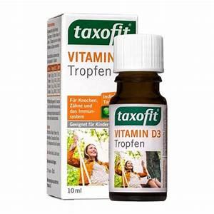 Vitamin D Dosierung Berechnen : taxofit vitamin d3 tropfen f r s immunsystem ~ Themetempest.com Abrechnung