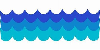 Waves Ocean Transparent Water Sea Clipart Simple