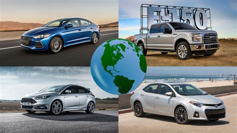 Revealed The World's Best Selling Cars Of 2016 Motoring