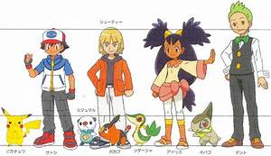 pokemon main characters names MEMEs