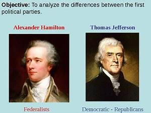 Political Parties In The Us Chart Hamilton V Jefferson Powerpoint Presentation By Mrberlin