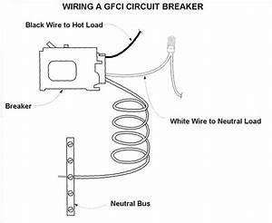 How To Wire A 50 Amp Gfci Breaker For A Spa  With Pictures