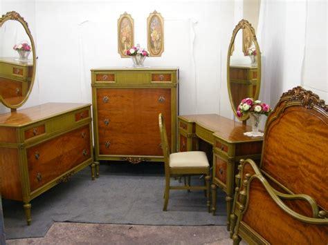 antique bedroom furniture 1930 1930 s antique satinwood french bedroom suite ebay 14019   cottageset1A