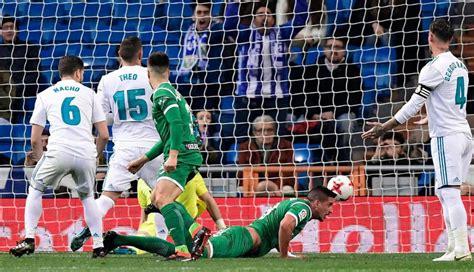 Real Madrid vs Leganés 2-1 GOLES y VIDEO RESUMEN del ...